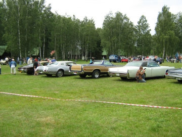 2010 americká auta na Stříbrňáku
