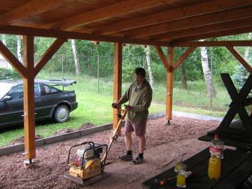 2008 budování pergoly