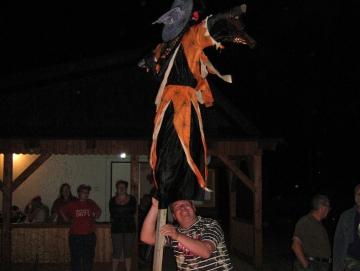 2012 čarodějnice na Stříbrňáku