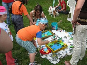 2010 Dětský den na Stříbrňáku