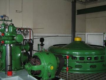 2009 elektrárna Hučák