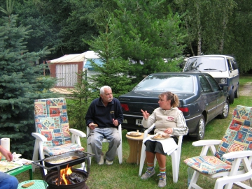 2008 Jirka a Alena na Stříbňáku