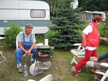 2009 Jirka a Alena na Stříbrňáku