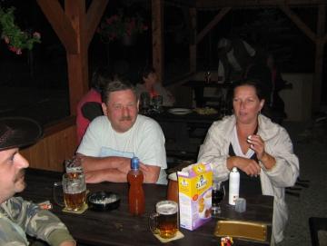 2010 letní posezení na Stříbrňáku