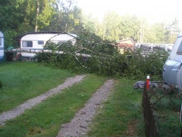 2012 rozvaděč havarovaný vichřicí