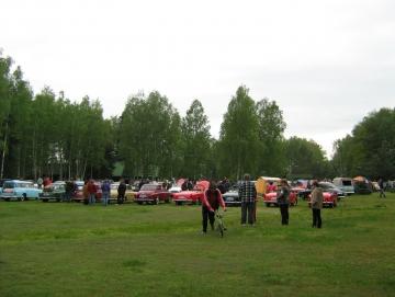 2010 sraz Škodovek na Stříbrňáku