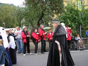 2012 vinobraní na Karlštejně
