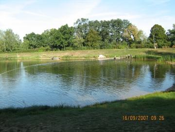 2007 výlov rybníka