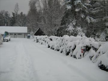 2010 zima na Stříbrňáku
