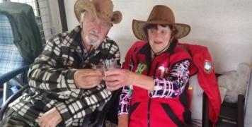 Miladka Kašparová a Pepa Donát a jejich dodatečná oslava narozenin