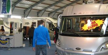 2013 Praha, výstava karavanů