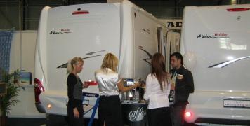 2010 výstava karavanů Brno